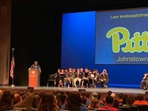 Pitt-Johnstown New Student Orientation: Academic Convocation