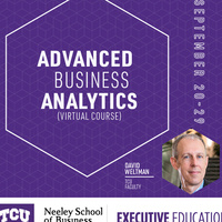 Advanced Business Analytics Online - SEP 20-29