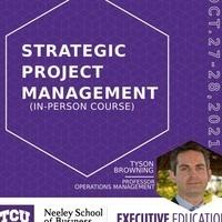 Strategic Project Management OCT 27-28