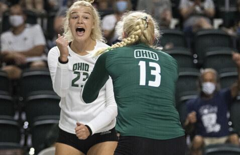 Ohio Volleyball Vs. Toledo