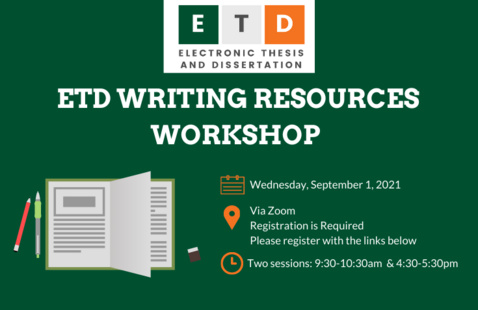 ETD Writing Resources Workshop: Session 2