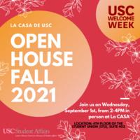 La CASA de USC Fall Open House