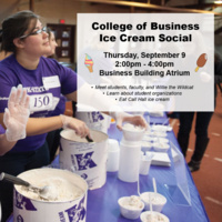 College of Business - Ice Cream Social