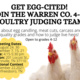 4-H Poultry Judging Practice