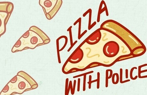 Pizza with Police - Plaza 900