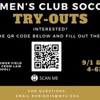 Women's Club Soccer Tryouts