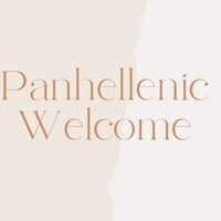 Panhellenic Welcome