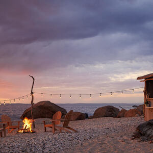 Beach-Fire Series