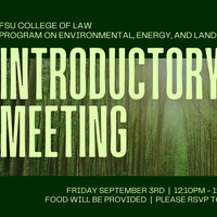Environmental Law Certificate Program Intro Session