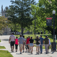 Tour on campus