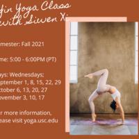 Yin Yoga Class with Siwen Xi