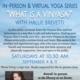 Yoga Class: What is a Vinyasa?