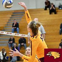 UMN Crookston Women's Volleyball vs Minnesota State University Moorhead - Cancer Awareness Weekend