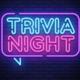 Virtual Trivia Neon Sign