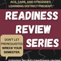 Readiness Review Series - Algebra