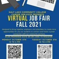 Fall 2021 Virtual Job Fair