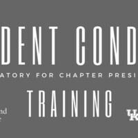 Student Conduct Training
