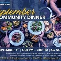 CAFE LLP September Community Dinner
