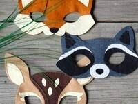 Budding Artists in a Bag: Woodland Animal Felt Mask