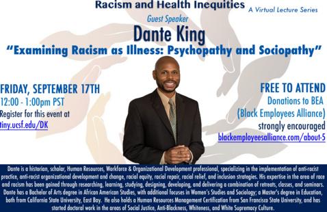 Examining Racism as an Illness: Psychopathy and Sociopathy