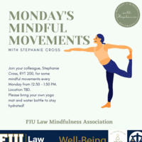 Thursday's Mindful Movements