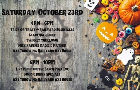 Halloween @ The Railyard