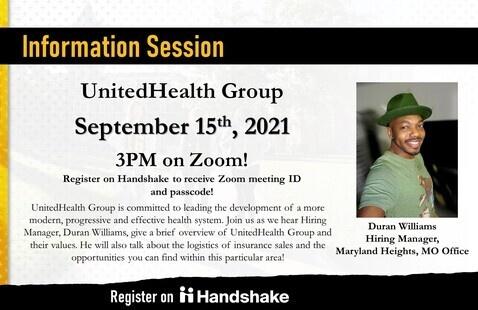 SHP: UnitedHealth Group Virtual Information Session