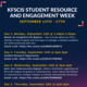 KFSCIS Student Engagement & Resource Fair 2021