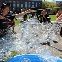 College of Science Welcome Social - Bubbles