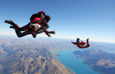 Gray Fund Outdoors: Skydiving!