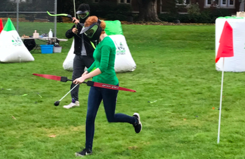 Gray Fund Outdoors: Archery Tag!