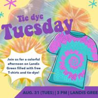 Tie Dye Tuesday