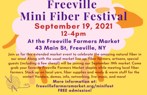 Freeville Mini Fiber Festival