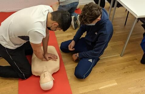 Adult CPR/AED & First Aid