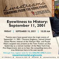 Eyewitness to History: September 11, 2001