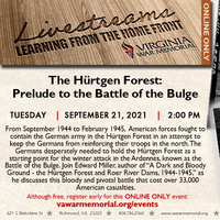 The Hürtgen Forest: Prelude to the Battle of the Bulge