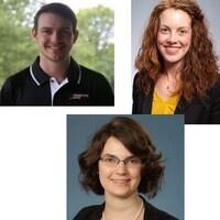 Courtney Williams, Rachel Rice, Ryan Buckman
