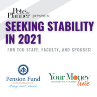 Pete the Planner - Seeking Stability in 2021