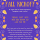 Systers Fall Kickoff Flyer