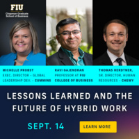 IS MY MIC ON?: LESSONS LEARNED AND THE FUTURE OF HYBRID WORK
