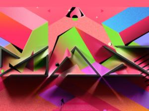 Adobe MAX stylized logo
