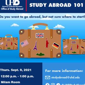 Study Abroad 101 Session