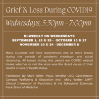 Grief & Loss: Student Support Groups