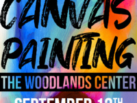 Canvas Painting at the Woodlands Center