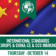 GlobalReach International Standards Europe and China: CE and CCC Marking