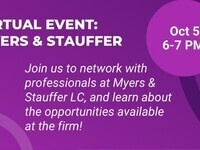 Firm Event: Myers and Stauffer