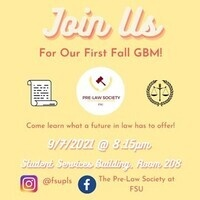 Pre-Law Society: First General Body Meeting
