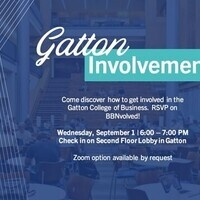 Gatton Student Involvement Fair