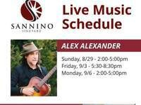Live Music at Sannino Vineyard