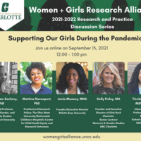 """""""Supporting Our Girls During the Pandemic"""": W+GRA's September 2021 panel discussion"""